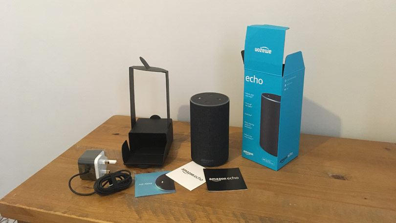 Amazon Echo unboxed