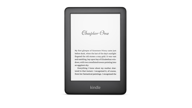 Amazon Kindle 2019 black front
