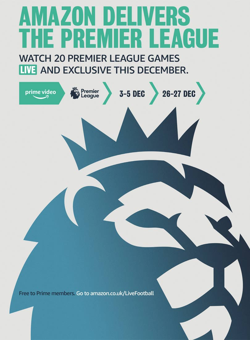 Amazon Prime Video - Premier League football