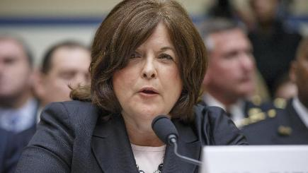 Secret Service Director Julia Pierson testifies before the House
