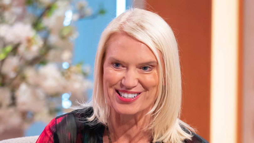 Anneka Rice - TV and radio presenter