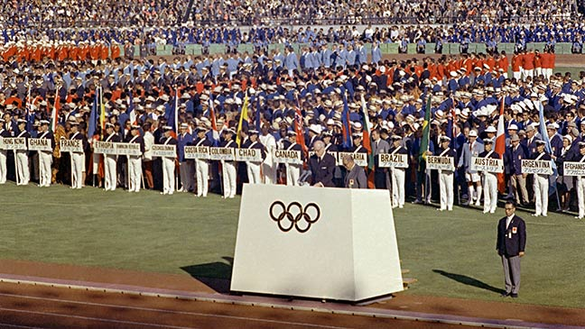 August 18 1964 South Africa Is Banned From The Tokyo Olympics Over Apartheid Regime Bt