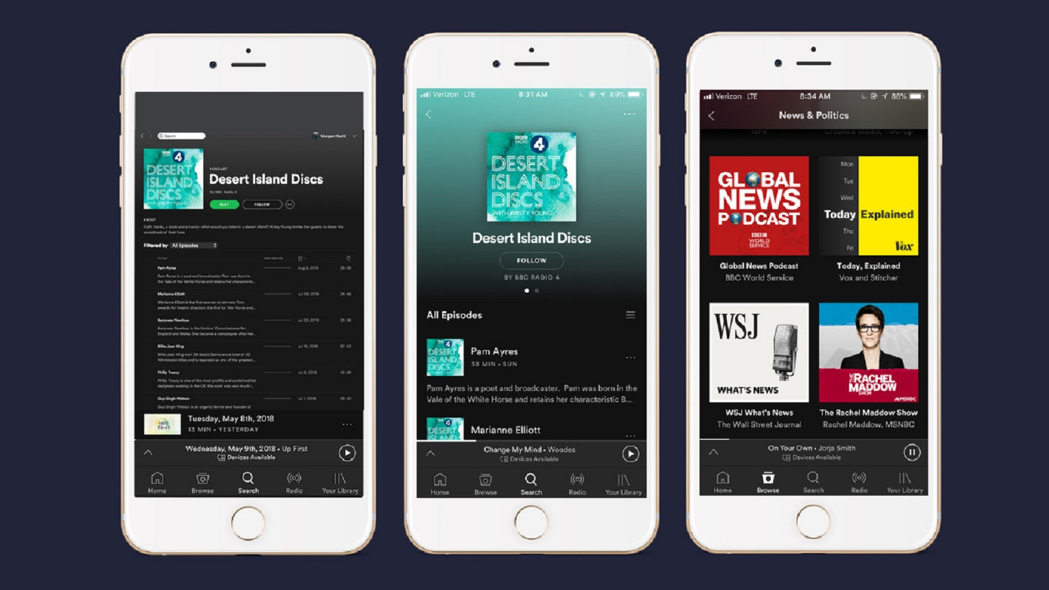BBC podcasts are now available on Spotify in the UK | BT