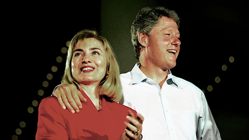 Bill and Hillary 1992