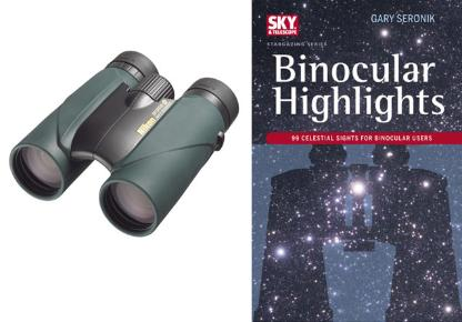 Nikon 10x50 SPORTER EX and Binocular Highlights book