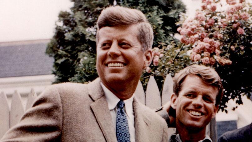 John F Kennedy and Bobby