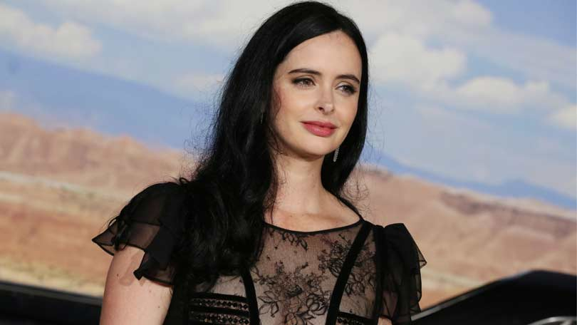 Krysten Ritter at the Breaking Bad Movie premiere