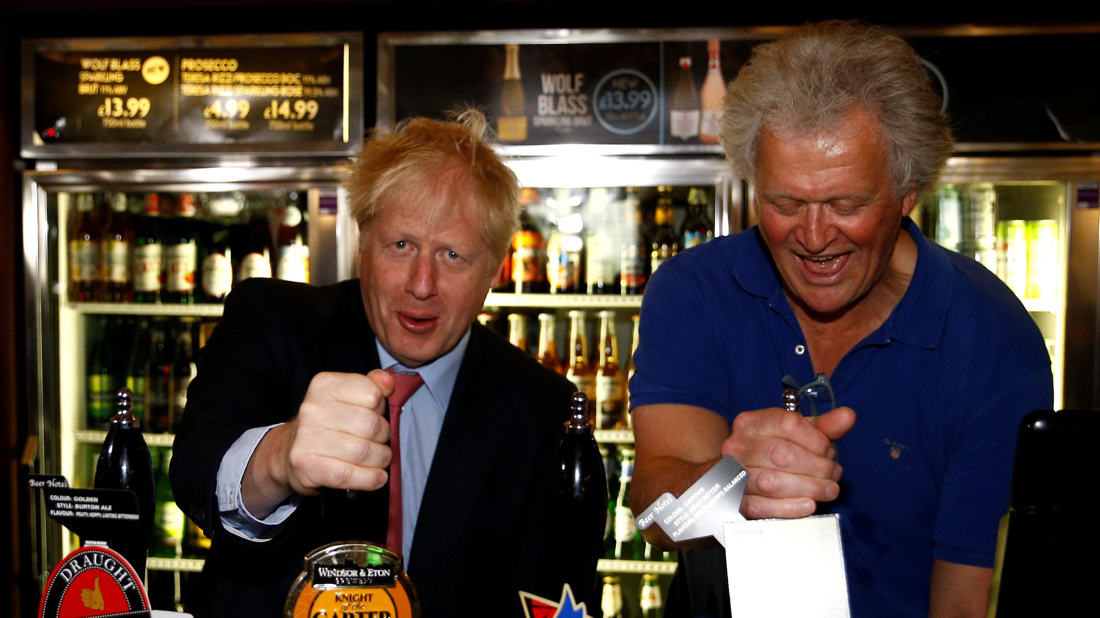 Brexiteer Pub Chain Boss Backs Boris Johnson To Be Good Pm