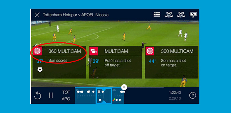 BT Sport app VR 360