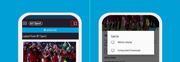 BT Sport app Chromecast