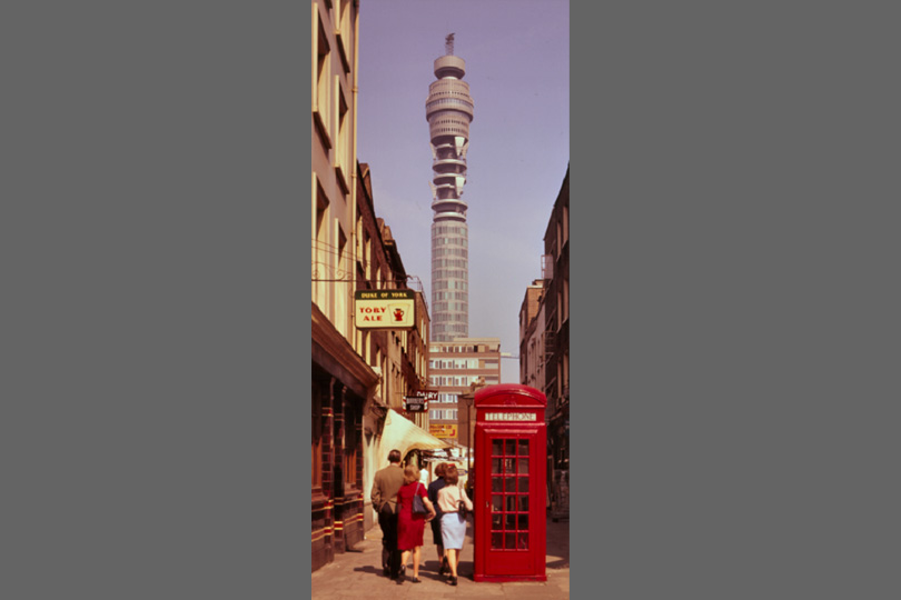 BT Tower in 1966.
