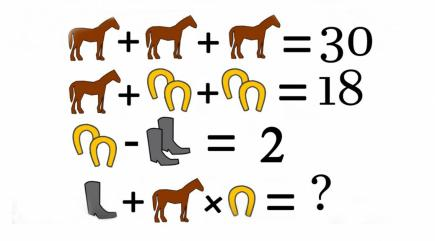 Can you solve this simple maths puzzle that has the ...