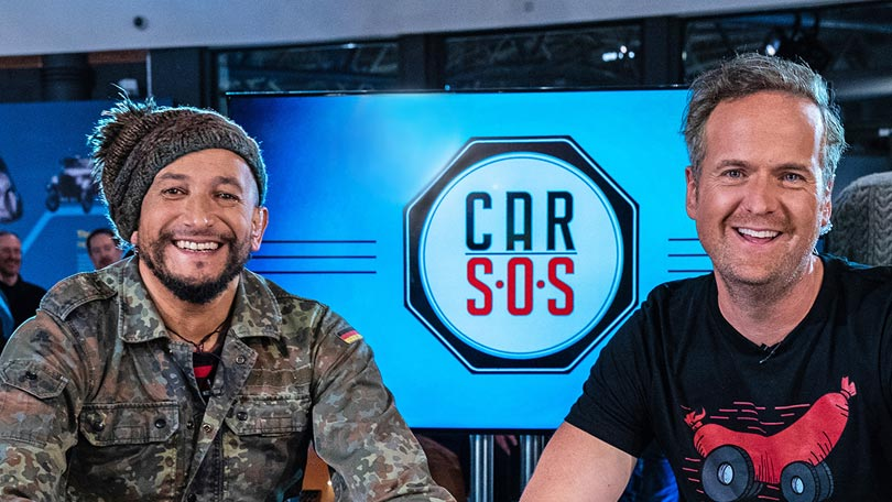 Tim Shaw and Fuzz Townshend on Car SOS