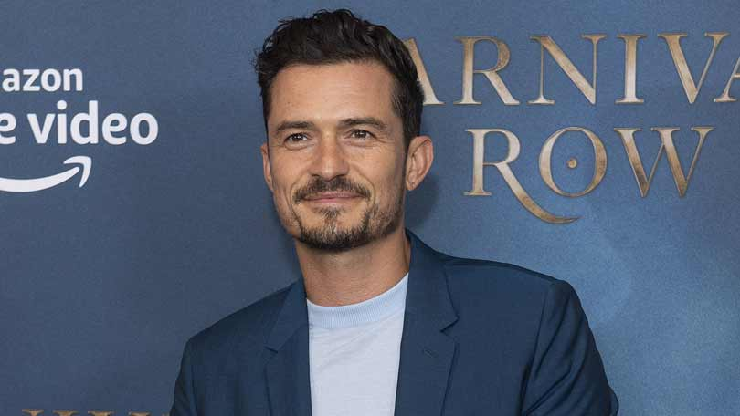 Orlando Bloom at the Carnival Row UK launch