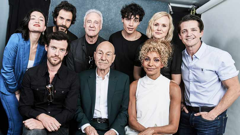 Picard cast at Comic Con 2019