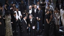 Chaos at Oscars with best Picture mix-up