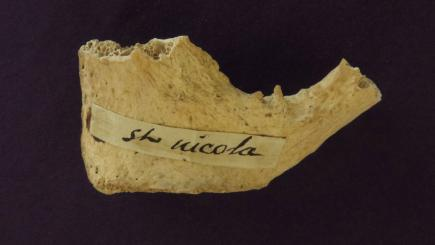 Could bone fragment owned by American priest belong to Father Christmas?