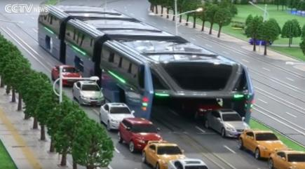 Could This Futuristic Bus Be The Solution To China S