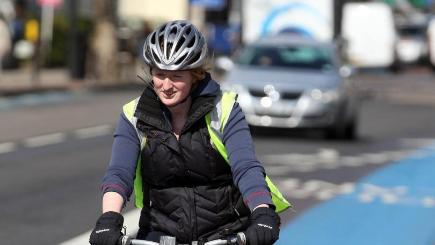55% of people believe cycling should be a bigger priority for the Government, according to a survey