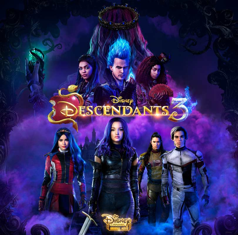 Descendants 3 - Key Art