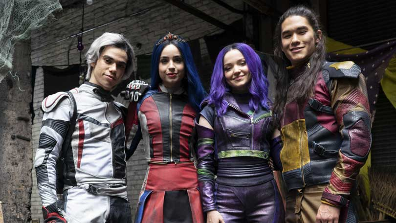 Disney's Descedants cast - Cameron Boyce, Sofia Carlson, Dove Cameron and Booboo Stewart