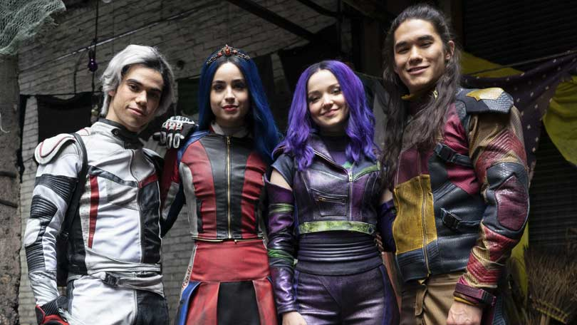 Dove, Cameron and Sofia in Descendants 3