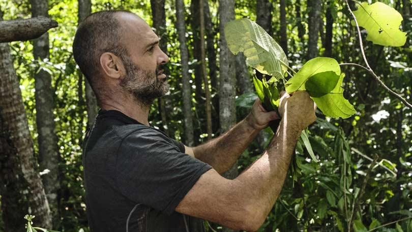 Ed Stafford in Man Woman Child Wild on Discovery Channel