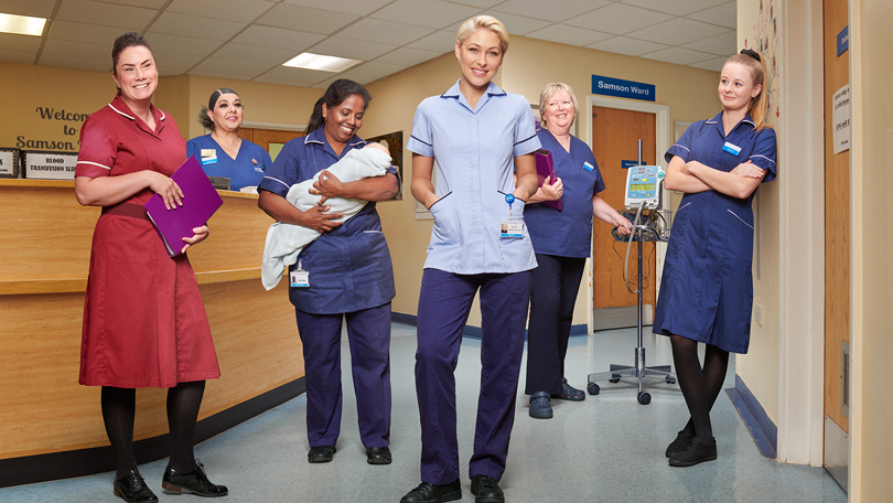 7 Questions With… Emma Willis: Delivering babies, training