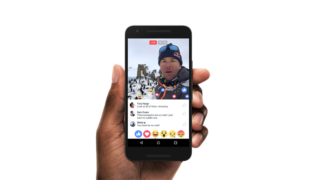 Facebook Live: How does the social network's live video