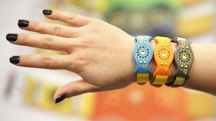 Wearable technology - like the Sunfriend UVA+B Activity Monitor - is predicted to be a big hit this Christmas