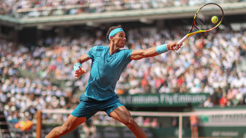 Rafael Nadal at Roland Garros 2018 - He returns in 2019 as champion