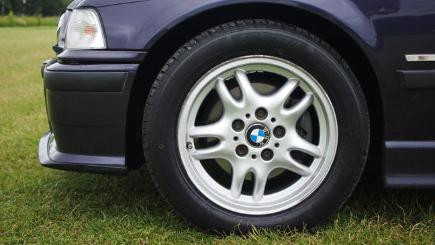 Landsail tyres fitted onto a BMW 328i