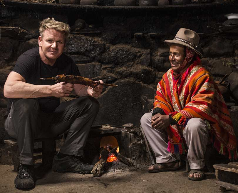 Gordon Ramsay: Uncharted on National Geographic