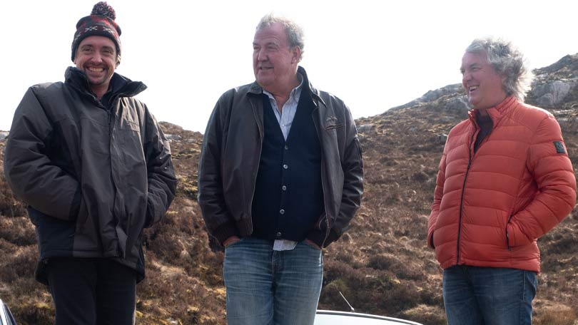 The Grand Tour series 3 - Filming in Scotland
