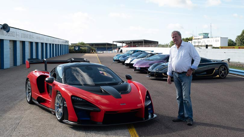 The Grand Tour season 3 - Clarkson rides the McLaren Senna