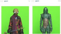 Gucci has cast aliens for a new campaign and it's as brilliant as it is bonkers