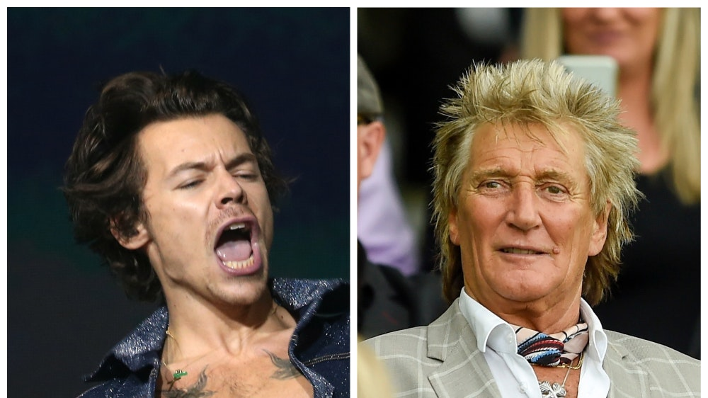 Harry Styles and Sir Rod Stewart in race for Christmas number one album   BT