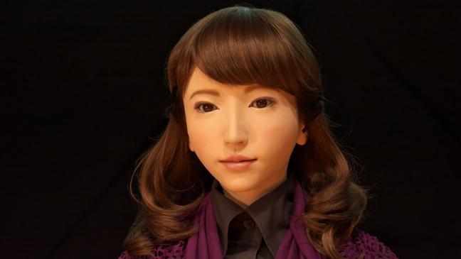 Kết quả hình ảnh cho Erica The Japanese Robot