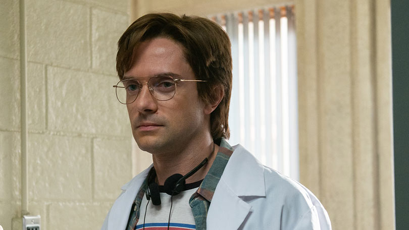 Topher Grace in The Hot Zone