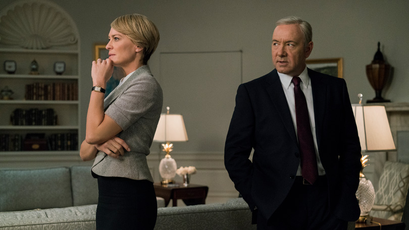 House of Cards Claire and Frank