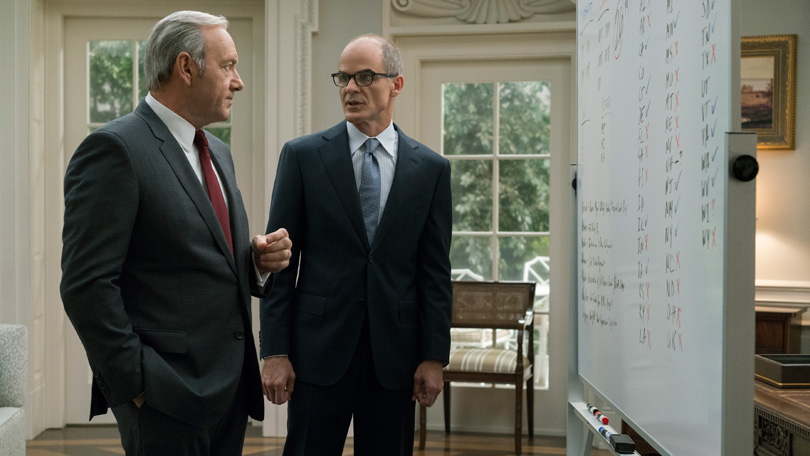 House of Cards Michael Kelly
