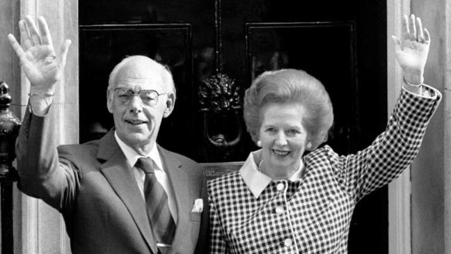 How Denis Thatcher took on the BBC over 'foul libel' of his wife - BT