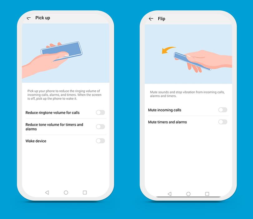Huawei P Smart 2019 gestures
