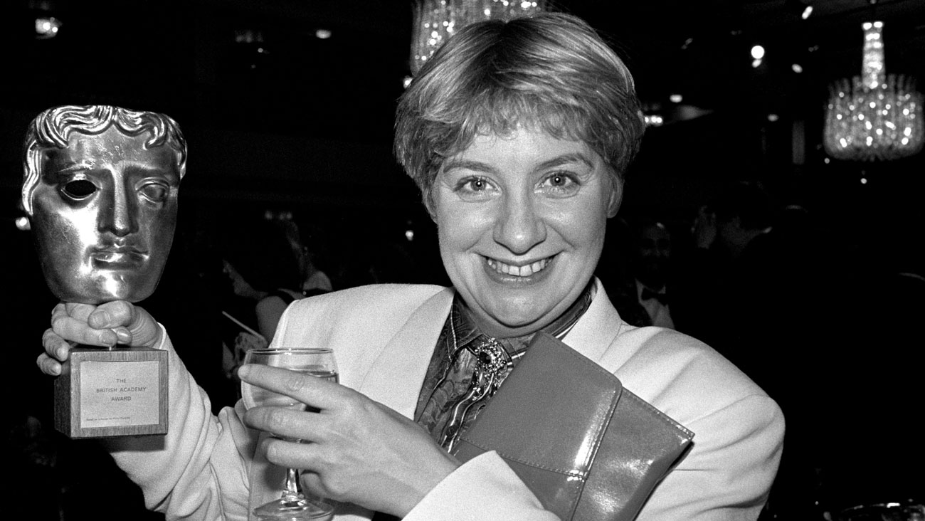 In 1986, Victoria Wood won a BAFTA for The Best Light Entertainment Performance for Victoria Wood As Seen on TV. It was the first of four BAFTAs that the actress and comedian won in her lifetime. © PA