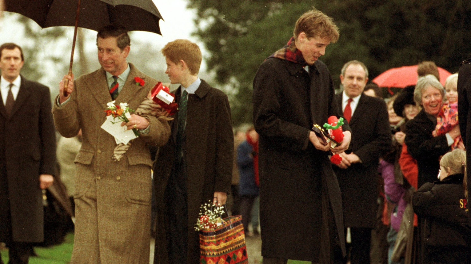 A Royal Christmas.In Pictures Memorable Royal Christmas Moments Over The