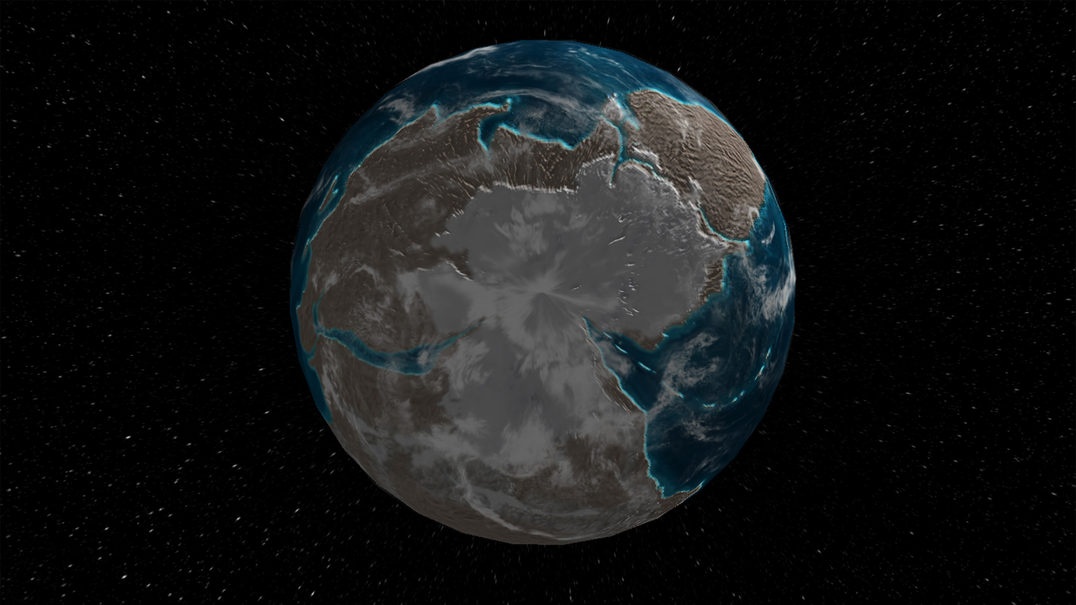 Ancient Earth Globe: Interactive map lets you see what Earth