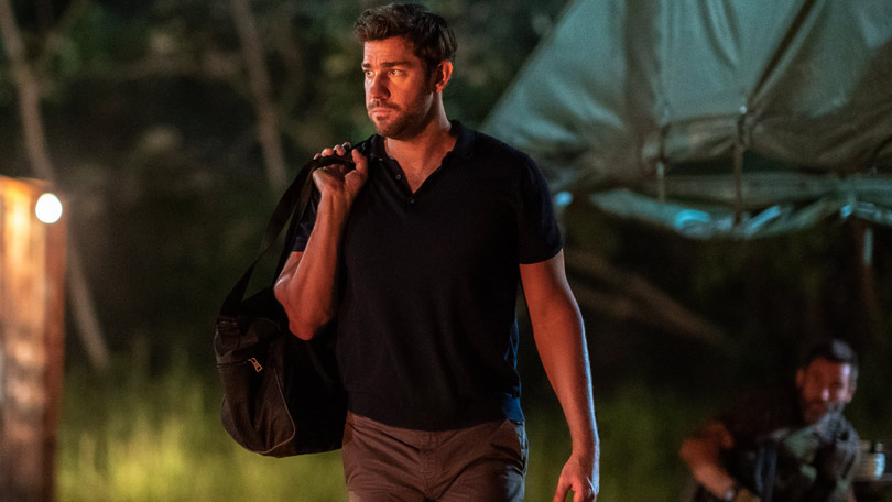 John Krasinski as Jack Ryan on Amazon Prime Video