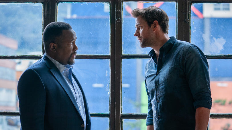 John Krasinski and Wendell Pierce in Jack Ryan season two