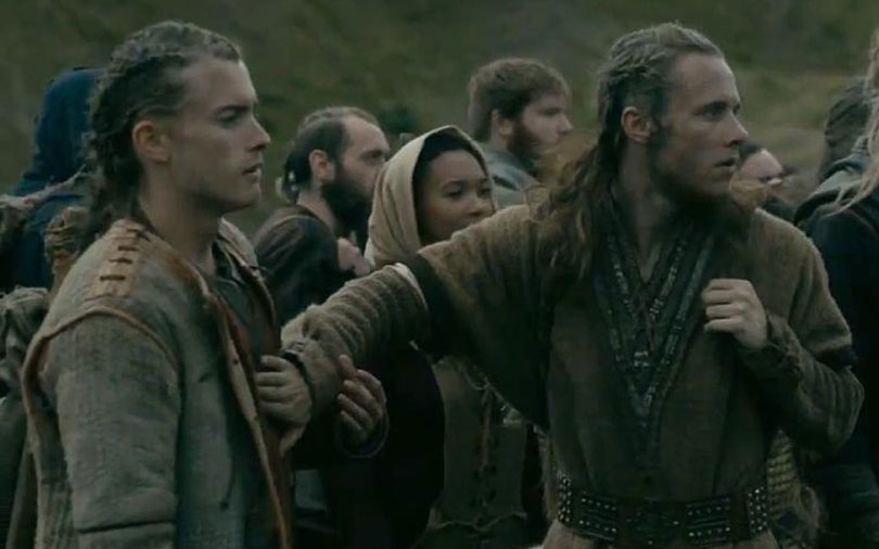 Vikings Jack and Elijah