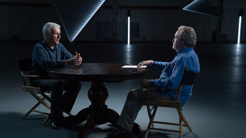 RIdley Scott and James Cameron